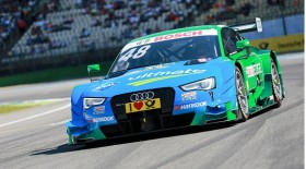Motorsports / DTM: german touring cars championship - 1. race Hockenheimring, GER, #48 Edoardo Mortara (ITA, Audi Sport Team Abt Sportsline, Audi RS5 DTM)