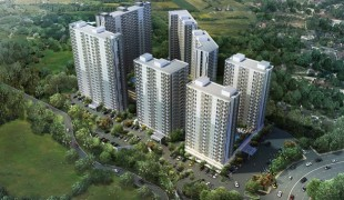 Kawasan Tower Apartemen Emerald Bintaro