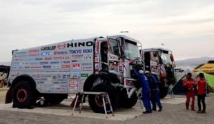 Hino Dakar Rally 2018 Saat Inspeksi sesudah stage pertama