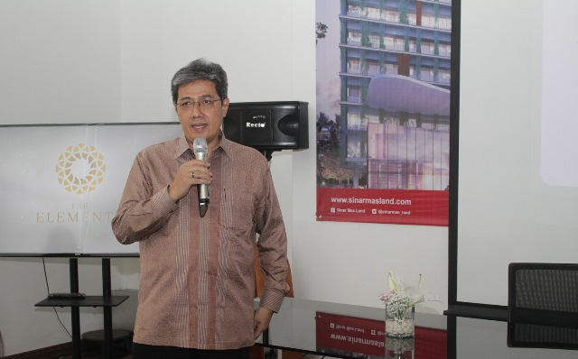 Dhony Rahajoe, Managing Director President Office Sinar Mas Land
