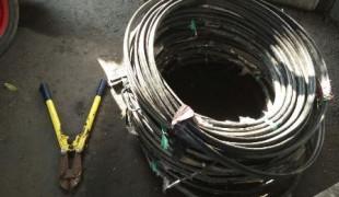 pencuri kabel telkom