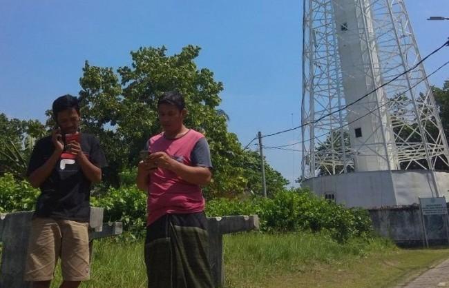 BTS Telkomsel Pulau Sebira