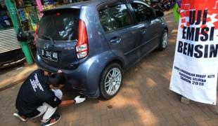 DLH Lakukan Uji Emisi Kendaraan