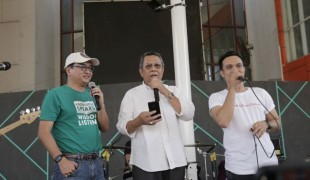 Konser Kemanusiaan Peduli Palu, Jadi Moment Sumpah Pemuda Pokja Wartawan Tangsel (2)
