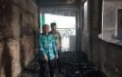 Kunjungi SMP Terbakar, Dindikbud Tangsel Pastikan Siswa Tetap Bisa Belajar