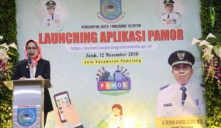 Mudahkan Masyarakat, Kecamatan Pamulang Launching Sistem Aplikasi Pamor (1)
