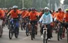 Walikota Tangsel Gowes Sepeda di Hari Amal Bakti ke-73 (2)