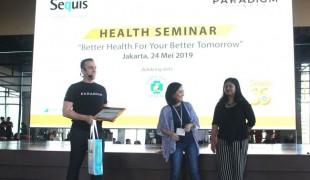 Seminar Kesehatan Sequis JJ Sweney - Felicia Gunawan - dr Caecilia Swasti Indrati, SpDV_re